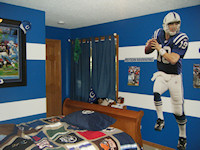 Peyton Manning theme room